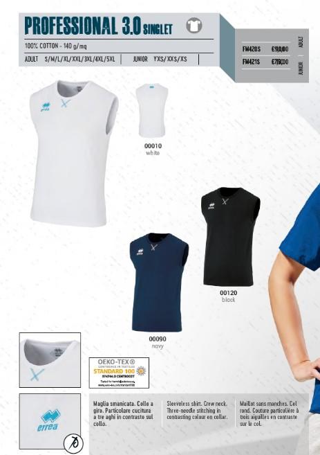T-shirt Junior Errea Professional